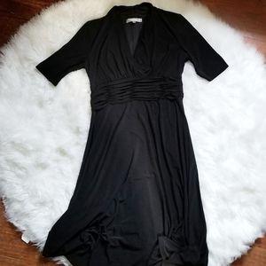 Evan-Picone | Black Evening Dress